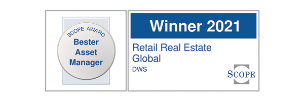 DWS bester Asset Manager Retail Real Estate Global